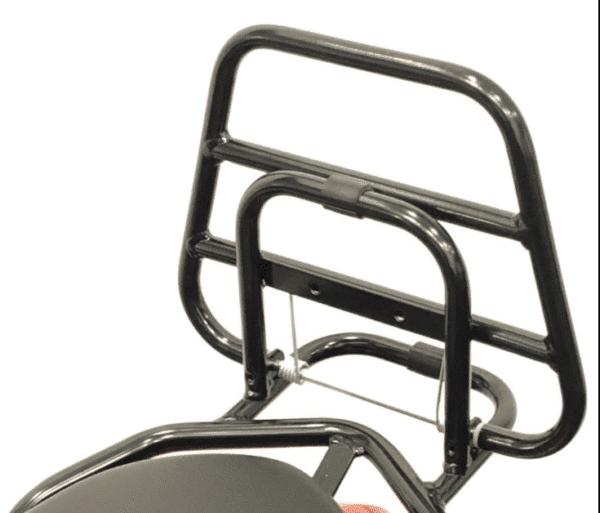 Achterklapdrager glans zwart Peugeot Kisbee