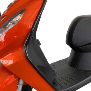 Sierbeugelset glans zwart Peugeot Kisbee