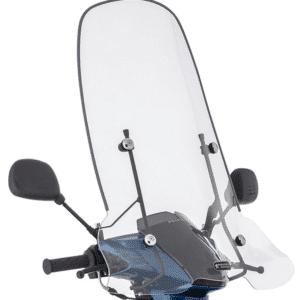 Windscherm Peugeot Kisbee 70 cm blanco