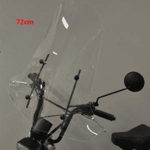 Hoog Windscherm AGM Goccia / Tomos A35 72cm windscherm hoog + bev. set