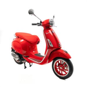 Vespa Primavera RED Edition Euro 5