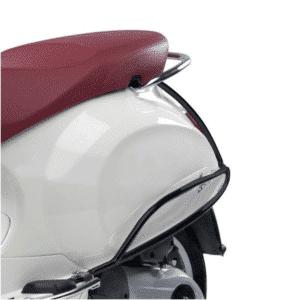 Achtervalbeugels Vespa Primavera / Sprint zwart origineel 1b001279
