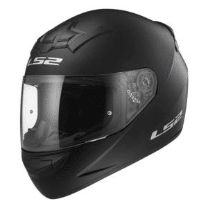 Helm integraal LS2 Rookie single mono FF352 mat zwart